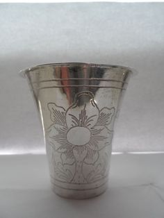 A Swedish silver cup, Johan Bergengren, Kristianstad, 1776