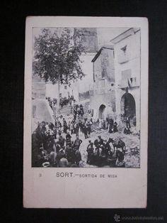 POSTAL SORT, LERIDA. SALIDA DE LA MISA - Foto 1