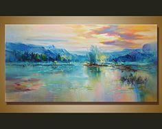 Handmade Landscape Canvas Wall Art Abstract Modern Contem... https://www.amazon.com/dp/B01M3X78CH/ref=cm_sw_r_pi_dp_x_ksdKybDEW7GJR