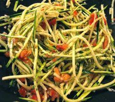 Zucchini Pasta Bowl