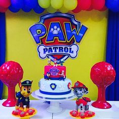 patrulha canina festa infantil - Pesquisa Google