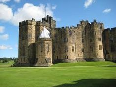 Alnwick Castle's Outer Bailey