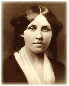 Louisa May Alcott - she wrote Little Women, was a nurse during the Civil War, and was involved in the Women's suffrage movement (1st woman to vote in Concord, Mass.)