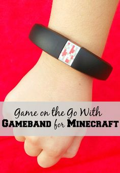 Be the coolest mom on the block by giving the hottest gift this year. Gameband for Minecraft. @MyGameband #GameOnTheGo #cbias #ad @GameStop