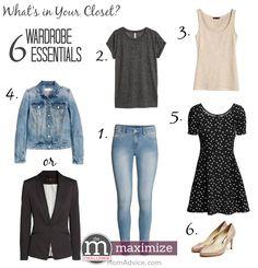 Six Wardrobe Essentials