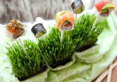 Sushi Pops! | The Daily Dish
