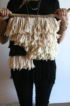 diy weave wall hanging