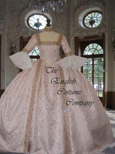 Pretty in Pink... Venise Marie Antoinette Versailles géorgien