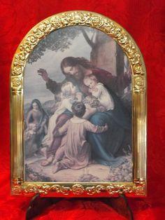 Icona Sacra Gesu' con Bambini;Valenti; :: Casa Del Regalo