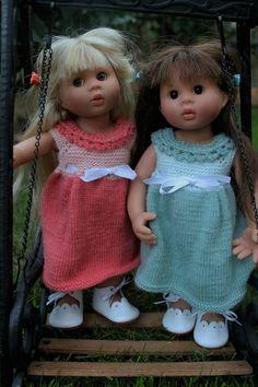 Correction tuto n°2 : robe écolière pour poupée Wichtel ou poupée Marietta.