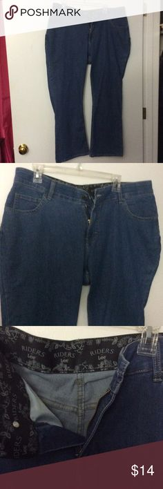 Boot cut jeans Light blue boot cut jeans. Never worn Riders by Lee Jeans Boot Cut