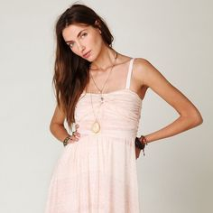 Free People Watercolor Tube Maxi Flowy mini dress with removable straps. Lined. Free People Dresses Mini