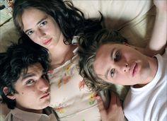 Michael Pitt, Louis Garrel and Eva Green in The Dreamers
