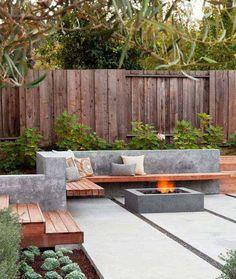 Simple and fresh small backyard garden design ideas (33)