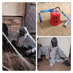 50 Coolest DIY Halloween Decoration Scary Halloween would not arrive twice in a calendar year, so give scary a moment. It is one of the widely celebrated holidays all over the world. It is sai. Halloween 2018, Diy Deco Halloween, Moldes Halloween, Diy Halloween Dekoration, Halloween Outside, Casa Halloween, Adornos Halloween, Halloween Haunted Houses, Creepy Halloween
