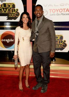 Bill Bellamy and wife @ Soul Train Music Awards