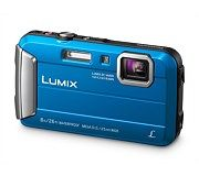 Panasonic Lumix Waterproof Action Camera - Blue (Internatioanl Model No Warranty). Optical Zoom with Intelligent Zoom. Mega Optical Image Stabiliser with Active Mode. HD Video in LCE. Leica, Nikon, Gopro, Appareil Photo Reflex, Underwater Images, Best Digital Camera, Optical Image, Waterproof Camera, Audio