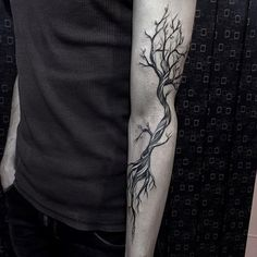 60 forearm tree tattoo designs for men - forest ink ideas - forearm tattoo manner ideas forest designs - Tree Branch Tattoo, Tree Sleeve Tattoo, Tree Tattoo Men, Tree Tattoo Designs, Sleeve Tattoos, Dead Tree Tattoo, Tattoo Ideas, Forest Tattoos, Nature Tattoos