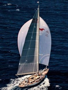 "Sailing Ship ""Wild Horses"" Super Yacht Challenge 2017, Antigua"