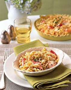 Lobster-Noodle Casserole