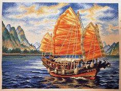 Navegando por internet he encontrado por casualidad este preciosisimo barco chino... Si algun@ se anima a hacerlo, le insto a que comparta ...