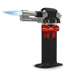 """""""Perfect torch for the kitchen"""" """"I am in love with this torch"""" """"Great little tool for a home chef"""" """"Buy this as a gift for the cooks in your life!"""" """"Makes perfect Creme Brûlée"""" """"Two thumbs up!!!"""" Be the talk of the town and the envy of... - http://kitchen-dining.bestselleroutlet.net/product-review-for-culinary-butane-torch-professional-quality-for-home-chefs-create-a-flawless-creme-brulee-guaranteed-precision-ever"""