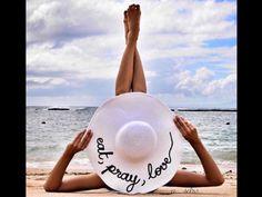 Personalised Summer floppy hat by Hatsbybits on Etsy