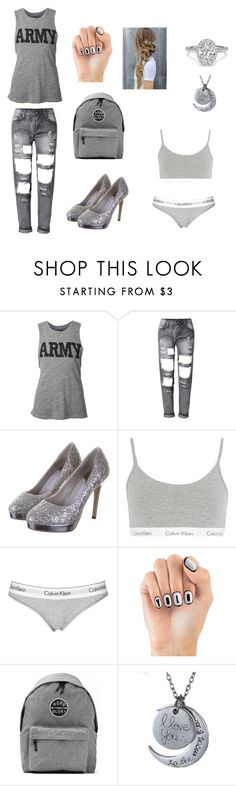 """by nan04"" by nan04-11 ❤ liked on Polyvore featuring NLST, Rainbow Club, Calvin Klein Underwear, Topshop, House of Holland and Art Disco"