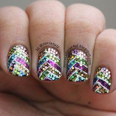 Fishtail sequins!