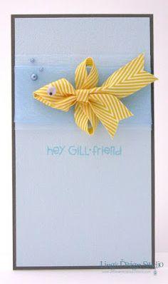 Striped twill ribbon fish: Hey Gill.friend