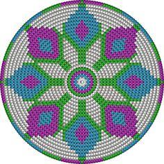 Risultati immagini per crochet pattern wayuu bag Crochet Gratis, Crochet Chart, Love Crochet, Diy Crochet, Filet Crochet, Motif Mandala Crochet, Tapestry Crochet Patterns, Crochet Handbags, Crochet Purses