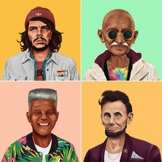 World Leaders as Hipsters – Fubiz™
