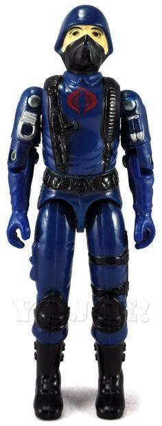 """The original Cobra Trooper, from the """"G.I.Joe"""" line of toys"""