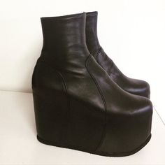 All black ankle Boots by Natacha Marro