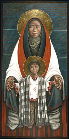 John Giuliani Hopi Madonna & Child