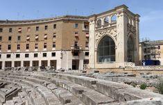 Archis Loci: Photo Gallery| La mia visita a Lecce Anfiteatro romano