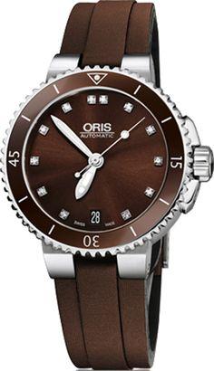 e1fca9b2969 Oris Aquis Date Diamonds 73376524192FS. Watches For MenCool WatchesWomen s  WatchesChronographOris AquisLuxury Watch SaleWatch ...