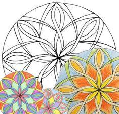 Shapes in Mandalas Overcoming Obstacles, Gods Eye, Inner World, Holy Spirit, Unity, Symbols, Shapes, Mandalas, Holy Ghost