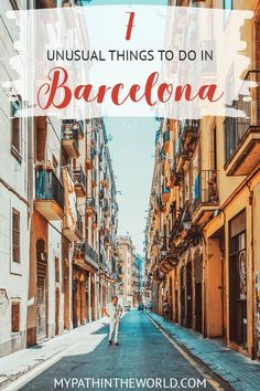 Traveling to Barcelona? Here are 7 amazing, unusual things to do in Barcelona Spain that will spice up your trip. spain Unusual Things To Do in Barcelona: 15 Off the Beaten Path Experiences Voyage Europe, Europe Travel Guide, Travel Destinations, Holiday Destinations, Travel Guides, Malaga, Madrid, Cool Places To Visit, Places To Go