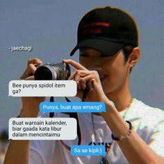 Quotes Lucu, Jokes Quotes, Funny Quotes, Text Pranks, Boyfriend Kpop, Meme Caption, Bts Texts, Pick Up Lines, Good Jokes