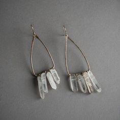 Silver Moth Wing Earrings - Altar PDX