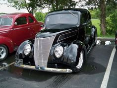 Our '37 Ford coupe