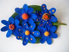 Hecho a mano Handmade: Felt Flowers