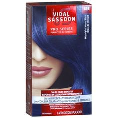 Buy Vidal Sassoon Pro Series Permanent Hair Color, 1BB Midnight Muse Blue with free shipping on orders over $35, low prices & product reviews | drugstore.com