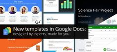 New templates in Google Docs: designed by experts, made for you | Didactics and Technology in Education | Scoop.it