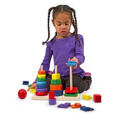 Piezas Geométricas Apilables    $399.00. Coloridos círculos, octágonos y cuadrados podrán entrar en los pivotes de madera, apilarlos o alinearlos para comparar sus formas. https://enviaregalo.com/producto/a-jugar/piezas-geometricas-apilables/