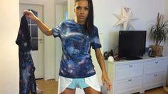 CUDEEA (episodul 15) - trend - Galaxy print facut acasa Tie Dye, Tops, Women, Fashion, Moda, Women's, Fashion Styles, Tye Dye, Woman