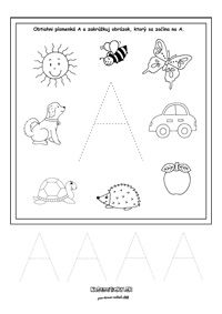 Písmenká - séria pracovných listov - Nasedeticky.sk Montessori, Playing Cards, Education, Pictures, Accessories, Alphabet, Note Cards, Lyrics, Haha