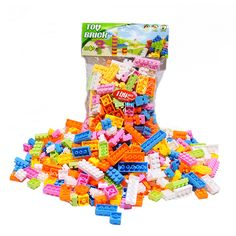 144 Pcs Plastic Building Blocks Bricks Children Kids Educational Puzzle Toy Model Building Kits for Kids Gift - Kid Shop Global - Kids & Baby Shop Online - baby & kids clothing, toys for baby & kid Model Building Kits, Building Blocks Toys, Educational Toys For Kids, Kids Toys, Stacking Blocks, Baby Shop Online, Puzzle Toys, Kits For Kids, Puzzles For Kids