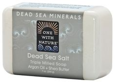 Introducing One With Nature Dead Sea Mineral Soap Dead Sea Salt 7Ounces Pack of 6. Get Your Ladies Products Here and follow us for more updates!